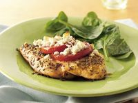 Feta topped chicken