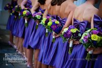 wedding party... love the color!