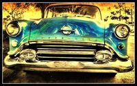 Oldsmobile in the Fifties-Used FX Color Splash Entry for Old Cars-Photo Studio Filters-color splash-ancient canvas-border The #1 App for iPhone