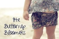 Little shortie-shorts for a baby #diy
