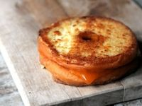 Doughnut Grilled Cheese