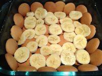 low-fat banana pudding
