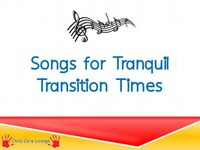Songs and Fingerplays for Tranquil Transitions in Preschool
