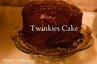 Twinkies Cake (without Twinkies)
