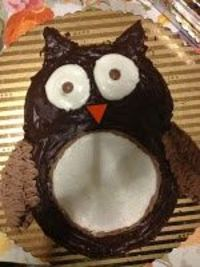 owl cake- For Jeani!!