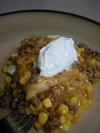 The Atwoods: Enchilada Casserole: A New Atwood Favorite