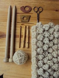 bubbles in natural wool