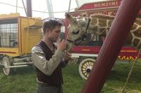 Can't wait for Water for Elephants DVD and BluRay release. Loving the baby giraffe.