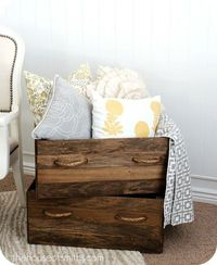 DIY crates by faye