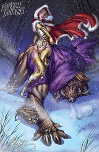 J. Scott Campbell - Beauty and the Beast