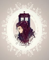 """""""Oh, my beautiful idiot. You have what you've always had. You've got me."""" Idris, The Doctor's Wife."""