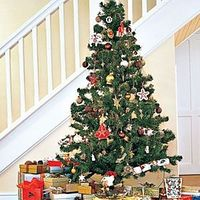 CHRISTMAS TREE: Cut three inches off the bottom of the tree and secure it in a stand. Place it away from heat sources in a cool location that's out of direct sunlight. Make sure it always has plenty of water�€•trees can absorb as much as f...