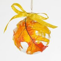 another great use for glass ornaments!