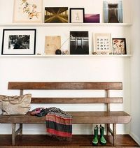 Entryway at the home of Mark and Sunrise Ruffalo