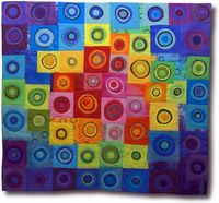 Gorgeous art quilt