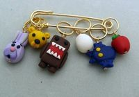 Stitch Markers DOMO for Knit or Crochet set of 6