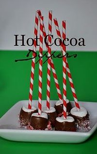 Hot Cocoa Dippers (gift idea too!)