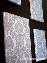 Fabric Wall Artw wedding dress - lace detail.