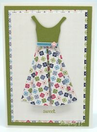 Stampin' Up! Stamping T! - Flower Dress Cards