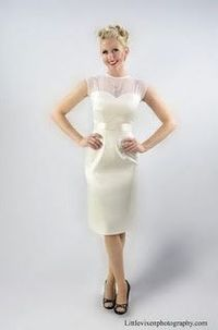 Pencil Skirt Wedding Dress Gowns Juxtapost
