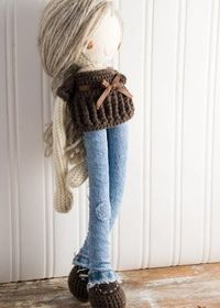 Crochet Inspiration ~ Love the Jean Outfit!