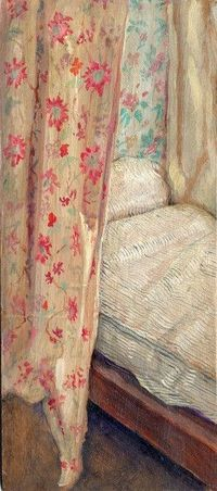 Alec Cobbe...painting...bed