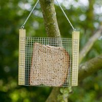 A toasty snack for the birds...