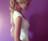 Tutorial: How to get this long braid without having long hair!