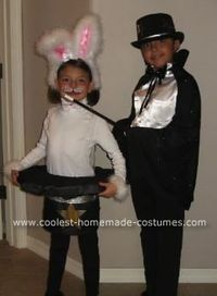 Magician and Rabbit in hat