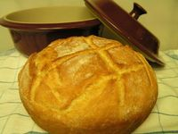 bread recipe using the deep dish covered baker