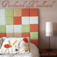 Patchwork headboard tutorial